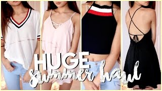 HUGE Try-On Summer Clothing Haul! ✘ Fashion Nova, Zaful, Shein, Forever21 +more