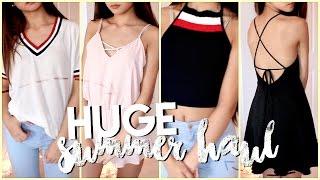 HUGE Try-On Summer Clothing Haul! ✘ Fashion Nova, Zaful, Shein, Forever21 +more