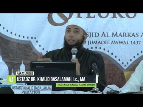 Kisah: Umar Bin Abdul Aziz Menyelamatkan Seorang Muslim yang Buta_Ust. Dr. Khalid Basalamah
