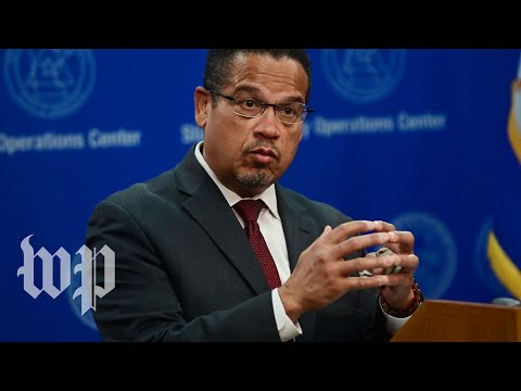 WATCH: Minnesota Attorney General Keith Ellison holds news conference on George Floyd case