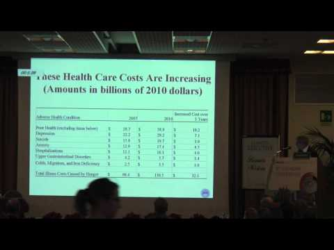 Donald Shepard - Economic cost of sarcopenia  and hunger in the united states