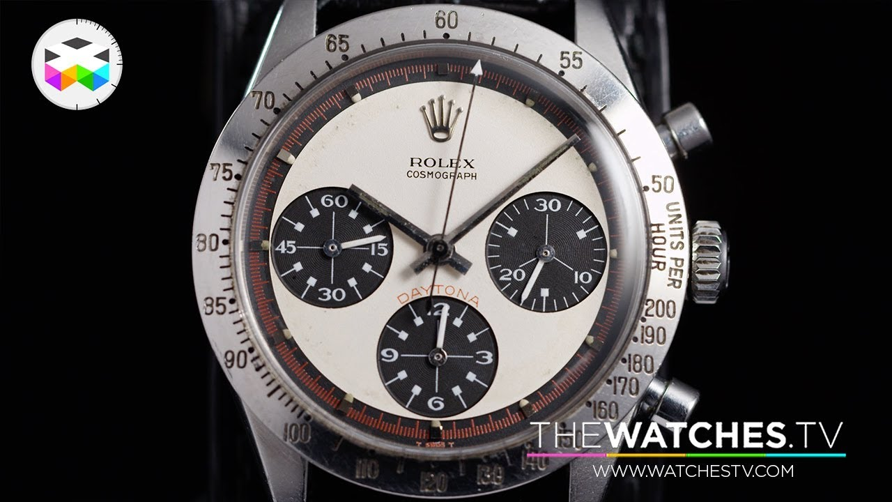 Going For A Record Paul Newman S Very Own Rolex Daytona Paul Newman