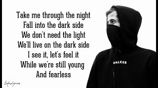 Baixar Alan Walker - Darkside (Lyrics) 🎵feat. Au/Ra and Tomine Harket