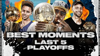 Stephen Curry VERY BEST PLAYOFF MOMENTS to REMEMBER | His Last 5 Playoffs