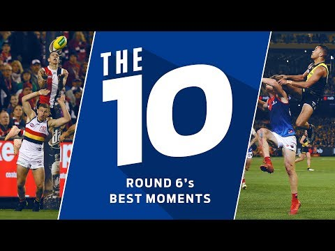 The 10 best moments of Round 6, 2019 | AFL