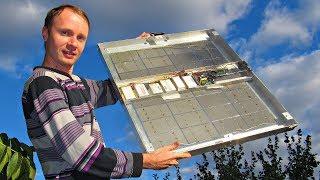 Компактная Солнечная Электростанция на 220 вольт своими руками