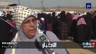 مسيرة نسائية تحت شعار فلسطينيات من أجل العودة وكسر الحصار - (4-7-2018)