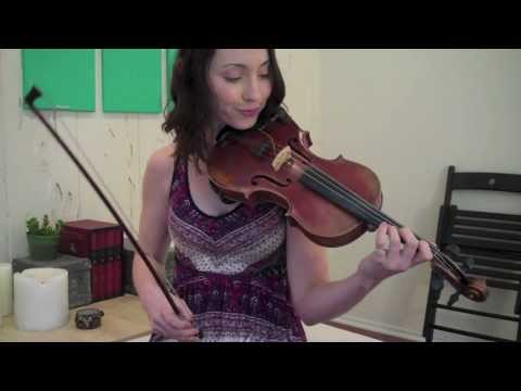 How to Play an A Major Scale on Violin