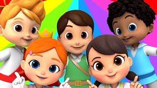 Chubby Cheeks Dimple Chin | Nursery Rhymes & Baby Songs | Children Rhyme