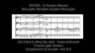 Brahms Requiem Allemand (4/7: Wie lieblich...)