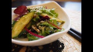 Корейская кухня: закуска из листового салата или котчори (겉절이)