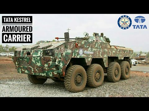 TATA Kestrel - Modern Armoured Personnel Carrier | Indian Army Futuristic Infantry Combat Vehicle