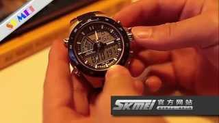 waterproof watch test   skmei ad1016 hands on demo video