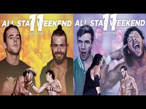 PWG All Star Weekend 11 Blu-rays Review
