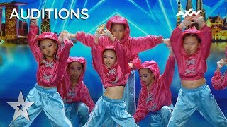 DSDJ Kids Will Knock You Out With Their OompH! | AXN Asia's Got Talent 2019