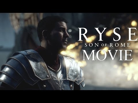 Gaming Movies - Ryse Son Of Rome The Movie - All Cutscenes & Gameplay No Commentary