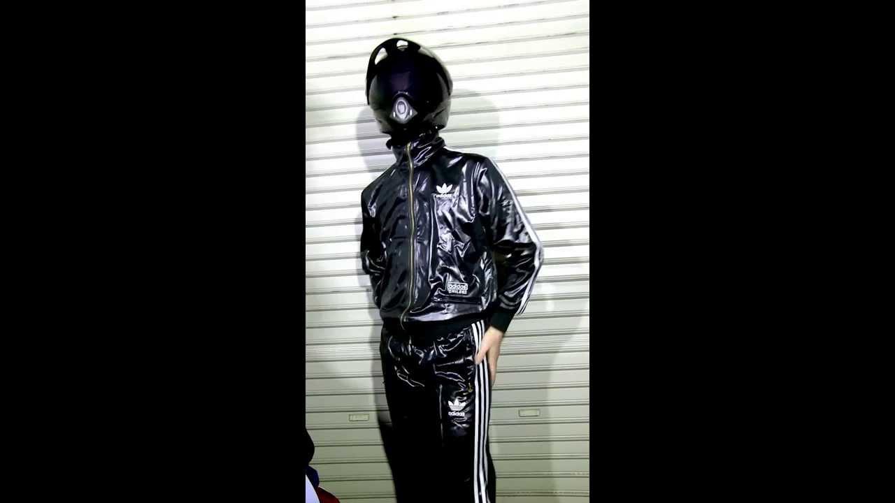 Adidas nylon pants - 2 5