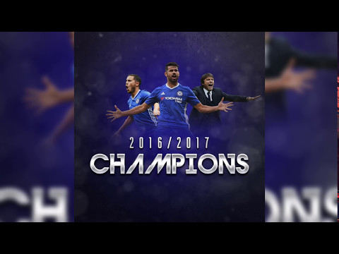 Chelsea are Champions 2016/2017  | Poster Design