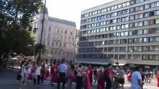 Ks. Piotr Natanek - Modlitwy w Bazylice św. Stefana i na zamku w Budapeszcie 27.08.2012
