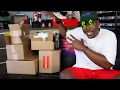 WE GOT SOME NEW SH T IN 5 BOXES NEW PICKUPS FROM BAPE GUESS X A AP NEW KICKS MORE