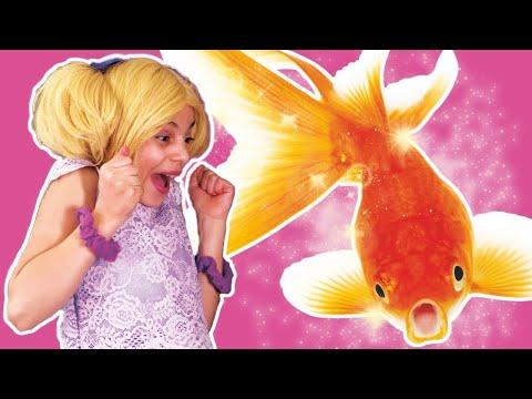 Kiddyzuzaa | The Fishy Friend | Animal Magic | Princesses In Real Life | WildBrain Cartoons