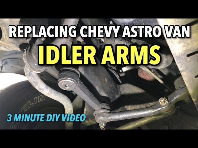 1 Front Left Driver Idler Arm Chevy Astro Gmc Safari 2Wd