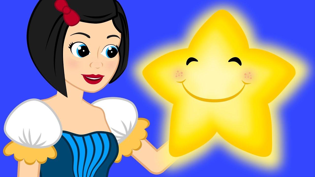 Pamuk Prenses ve Yedi Cuceler ile Işıl ışıl Yıldızım çizgi film çocuk şarkısı | Adisebaba Masal