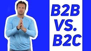 видео В2В или В2С. Всё равно нужно знать В2В. (Про принятие кем-то нужных вам решений).