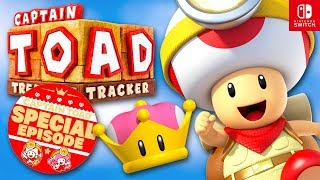 Captain Toad: Treasure Tracker - All Special Episode Levels 100%! (Nintendo Switch DLC)