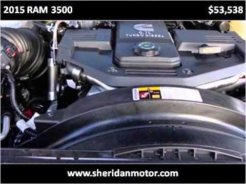 2015 Ram 3500 New Cars Sheridan Wy Youtube