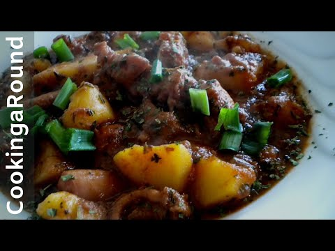 Octopus Stew Portuguese Style Recipe