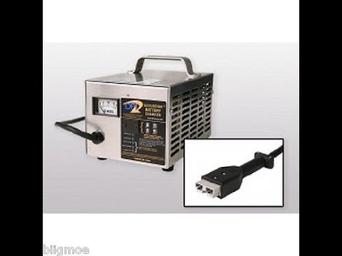 DPI 36V 18A Charger with SB 50 Handle Video / Golf Cart Battery Charger