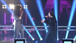 Repeat youtube video The Voice IT | Serie 2 | Battle 1 | Suor Cristina Scuccia Vs Luna Palumbo