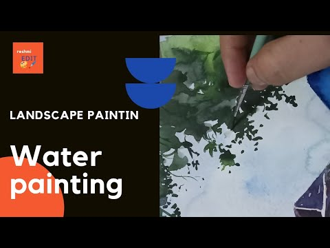 Landscape painting for beginners