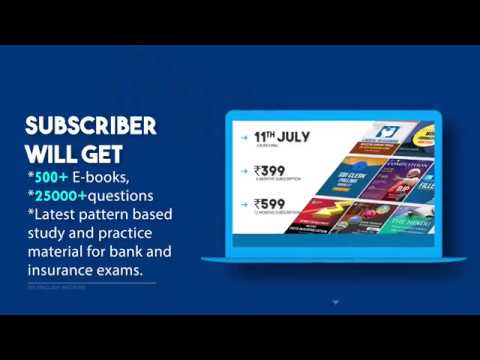 The Digital Library EBooks Subscription For Bank & Insurance Exams   Adda247 Publications