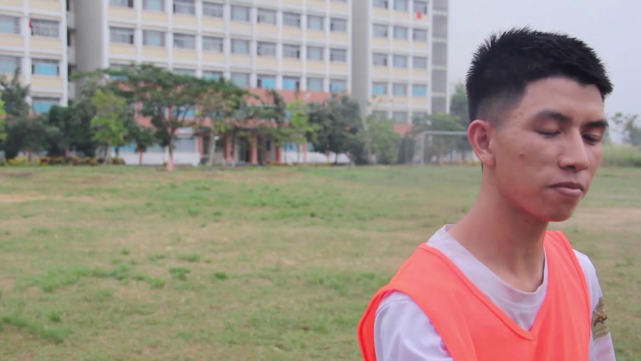 Phỏng vấn vận động viên | Đội tuyển bóng đá trường tập luyện | 2018.12.20.(07)