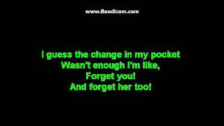 Forget You- Cee Lo Green Clean Version Lyrics On Screen