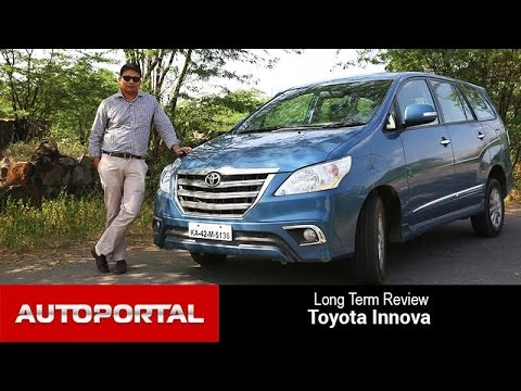 Toyota Innova Long Term Review - Autoportal