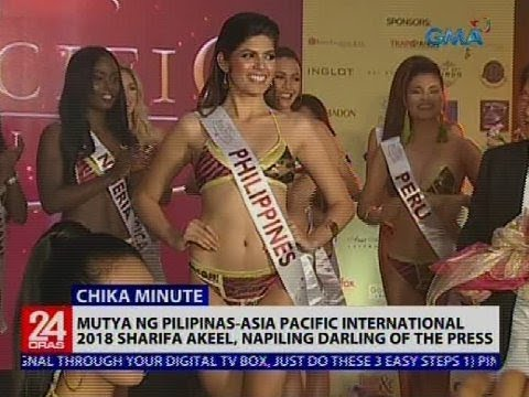 Mutya ng Pilipinas-Asia Pacific International 2018 Sharifa A