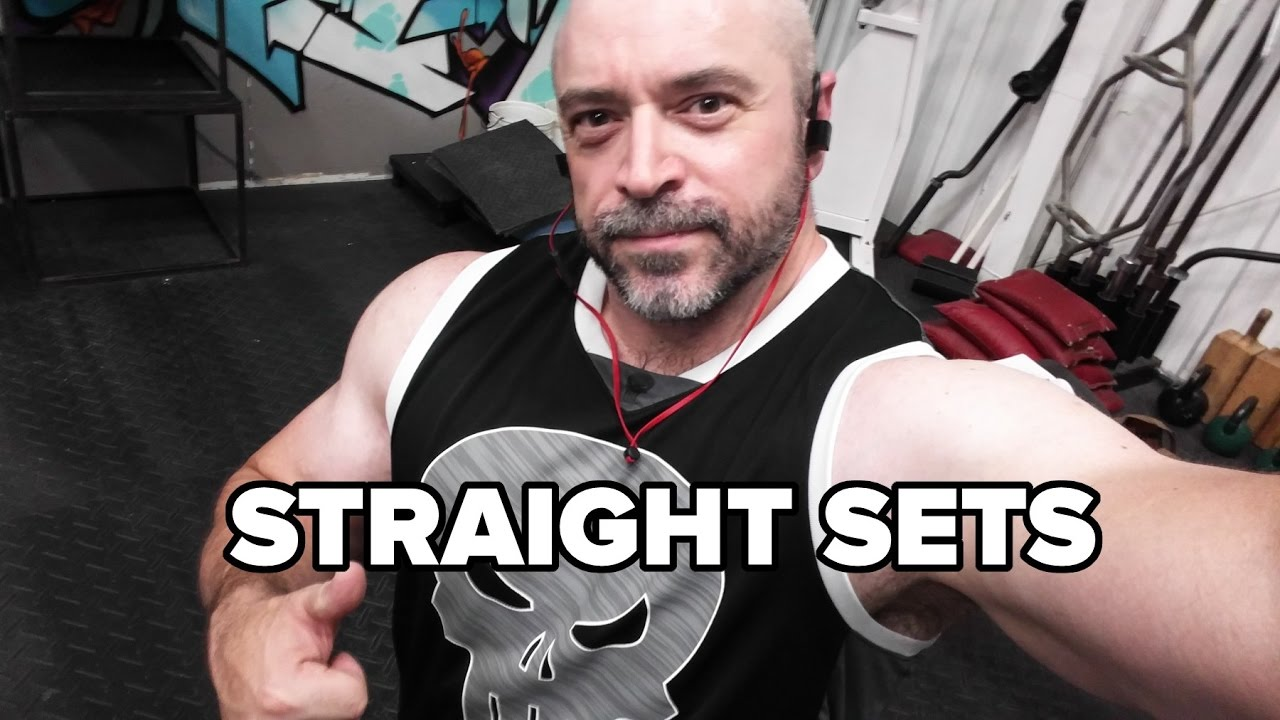 Do Straight Sets Have Value When Building Muscle?