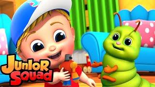 Bugs Song стихи для малышей потешки Junior Squad Russia развивающий мультфильм