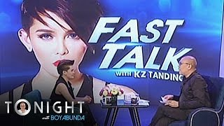 TWBA: KZ makes Boy Abunda laugh during her Fast Talk