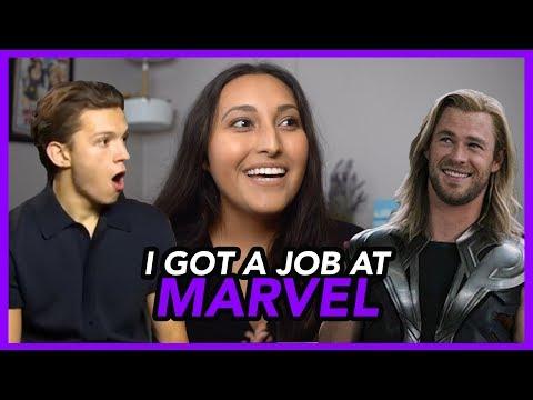 I Got a Job at Marvel