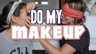 MY GIRLFRIEND DOES MY MAKE UP