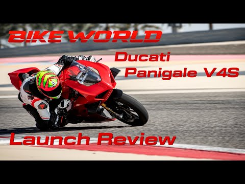 2020 Ducati Panigale V4S Launch Review (4K)