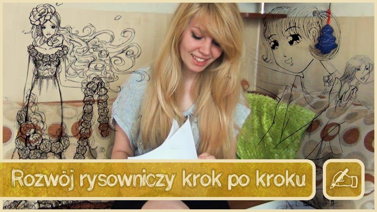Rozwój rysowniczy krok po kroku  YouTube -> Kuchnia Kaflowa Krok Po Kroku