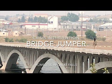 Jumper On The Tenth Street Bridge - Great Falls, MT