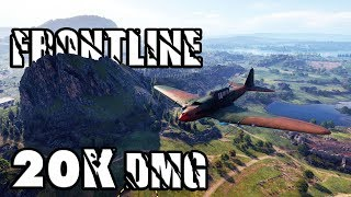 Frontline - 17 Kills - 20K Damage - World of Tanks Gameplay