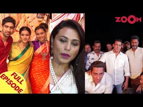 Bollywood's Durga Puja celebrations | Salman Khan wraps up Dabangg 3 shooting & more