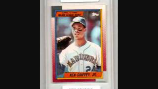 Ken Griffey Jr. Graded Rookie Baseball Cards